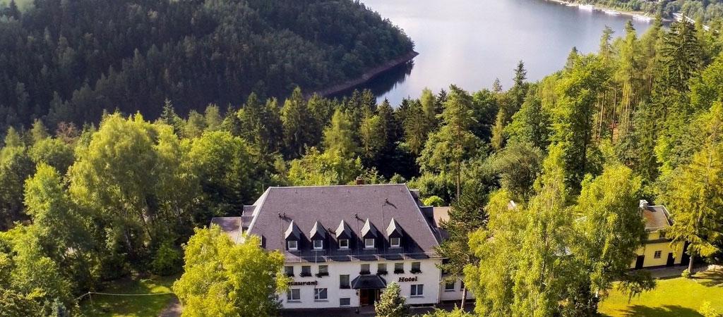 Waldhotel Am Stausee Ihr Hotel Am Stausee Hohenwarte In Thuringen